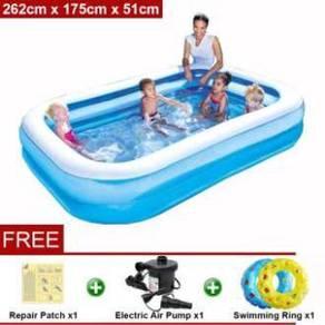 Bestway 2.62 Meter Inflatable Swimming Pools