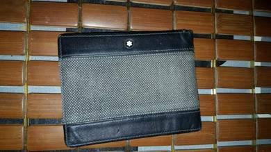 Original montblanc man wallet