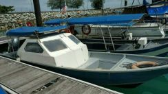 27Ft Fibreglass Boat & Yamaha 115hp 4s