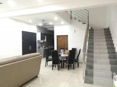 2 storey Terrace Corner at Idea Haus, One Residence, Sg. Ara, Penang