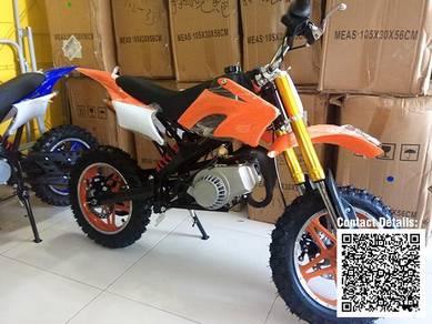 Mini Motocross � Mini Dirt Bike 49cc Orange White