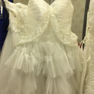 Wedding dress short