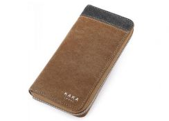 KAKA Premium PU Leather Long Wallet Purse Beg Duit