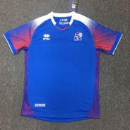 Iceland Home Jersey Errea 2018