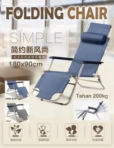 Folding Chair - kerusi lipat - Beach Bed(B03)
