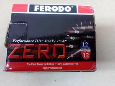 Proton Wira Saga Ferodo Zero Front Brake Pads