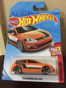 Hot wheels Hotwheels then and Now Volkswagen Golf