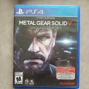 Metal Gear Solid V Ground Zeroes - PS 4 Game