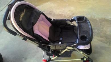 Stroller baby terpakai