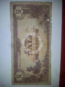 Malaya japanese note ma290344