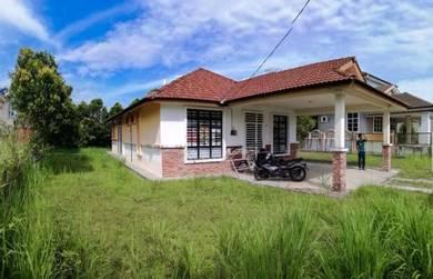 For Sale Nice Bunglow Tanah Luas,Taman Desa Aman,kulim kedah