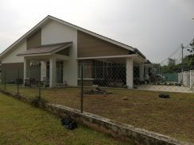 Taman tanjung puteri resort, single storey terrace house corner lot