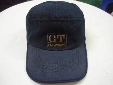 Topi GT Hawkins Logo Sulam Cap