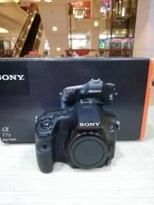 Sony a77 mark ii body (sc 6k only) 99.9% new