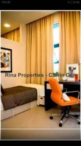 Affordable 3rooms Studio FULLY FURNISHED, Cambridge Tower, Presint 11
