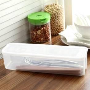 Kitchen Noodle Utensils Container Storage Box
