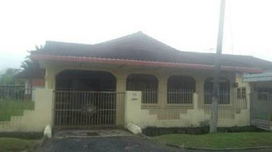Rumah banglo corner lot untuk disewa