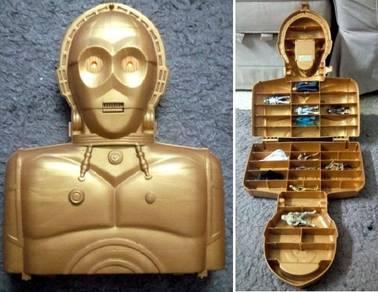 Electronic Star Wars Talking C3PO Figure Case