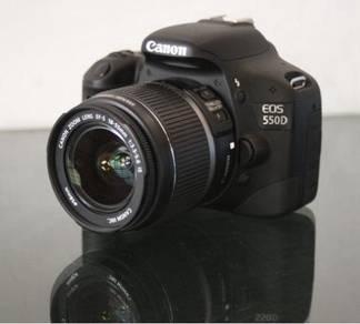 Canon 550D FullHD 18MP 18-55mm lens, EXCELLENT