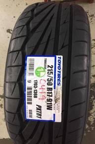 Tayar Honda Civic Toyo TR1 Baru Size 215 50 17