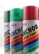 Aerosol Spray Paint Stock Clearance(100 cans)RM4