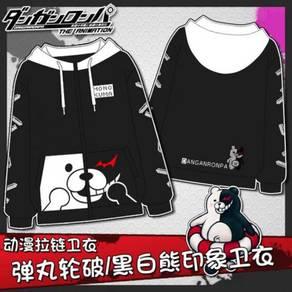 Anime DanganRonpa monokuma sweater hoodie