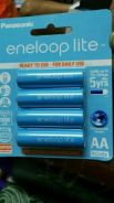 Rechargeable Ni-MH AA batteries