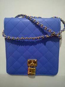 Pre-love blue bag.