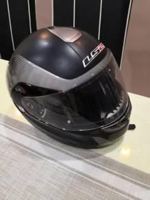 Helmet flip LS2 sempena pkp
