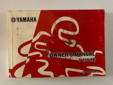Yamaha Owner Manual T135 SE