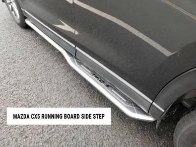 Mazda 18-2020 cx5 oem running board side step new