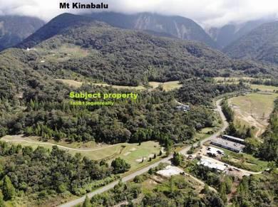 Kundasang Mount Kinabalu Golf Club Bungalow Lot. CL21,000sq ft
