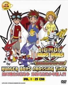 DVD ANIME Digimon Xros Wars Season 3 Vol.1-25End