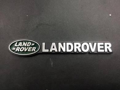 Landrover metal emblem logo