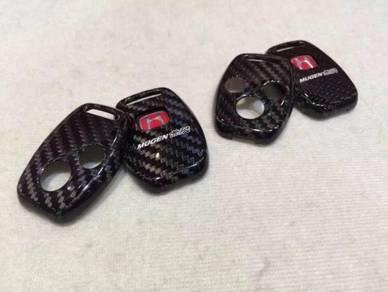 Honda civic accord mugen carbon key cover
