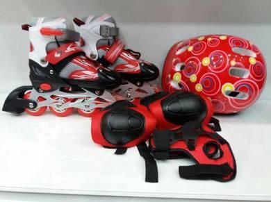 Kasut roda kanak-kanak rolleblade adjustable=)
