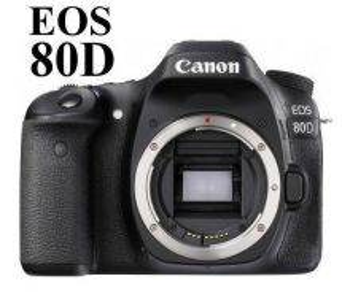 NEW Canon EOS 80D DSLR Camera Body w/GST