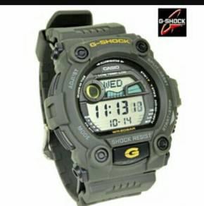 Casio G-Shock Men's Green Resin Strap Watch G-7900
