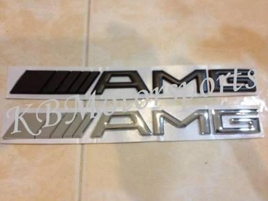 Mercedes Benz AMG Logo Emblem
