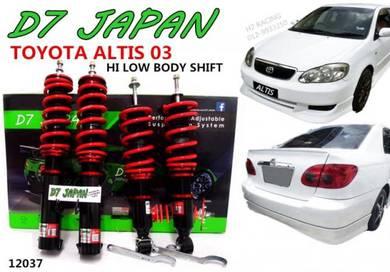 Altis 03up Hi Low + Body Shift Adjustable 2Step