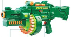 Wheels Electric gun toy Auto Soft Bullet Tag Nerf
