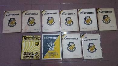 1950s CLIFFORD Cliffordian Magazine duit buku coke