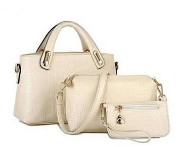 Como Faux Crocodile Leather Handbags Come in 3
