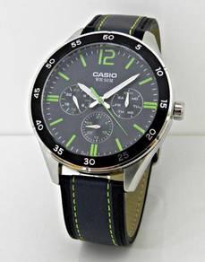 CASIO Men Enticer Multihands Watch MTP-E310L-1A3VD