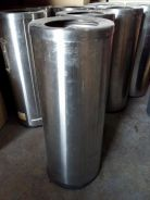 Stainless Steel Round Open Top Dustbin