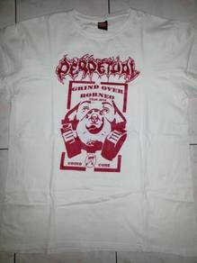 Sabah Grindcore Perpetual 2014 Borneo Tour Shirt