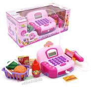Cash Register Electronic Calculator Function pink