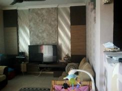 Fully furnished double storey behind Mydin Samariang