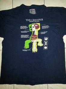 Minecraft Game The Creeper Shirt