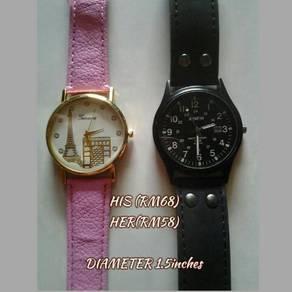 Jam Tangan Lelaki dan Wanita